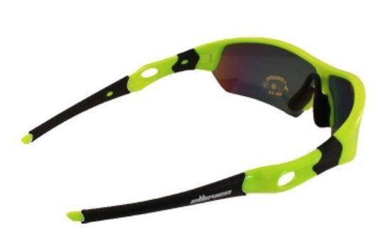 5b297e1aa7a6f Imagem de Oculos para ciclismo elleven spider neon lente espelhada uv400  lente extra escura