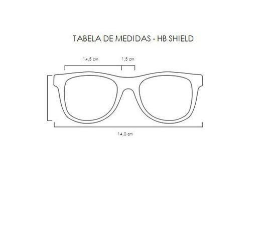 44d8dbb7046af Imagem de Oculos para ciclismo hb shield branco perolado pearled white lente  espelhada vermelha
