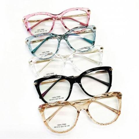 Imagem de Óculos para grau diamante preto