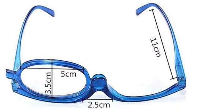 Imagem de Óculos para Maquiagem Profissional com Grau Antirreflexo