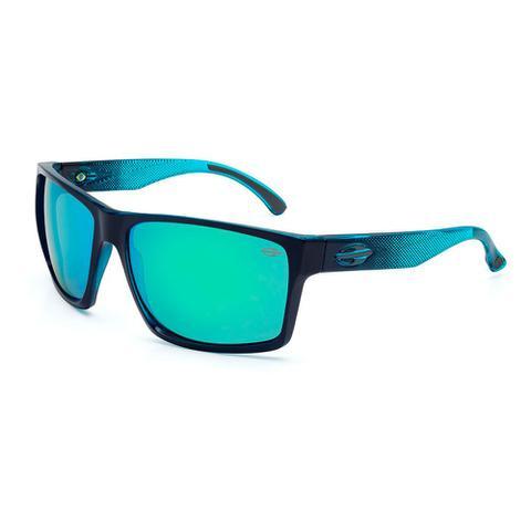 Imagem de Óculos sol mormaii carmel azul escuro com azul claro trans. preto- azul 1260675673