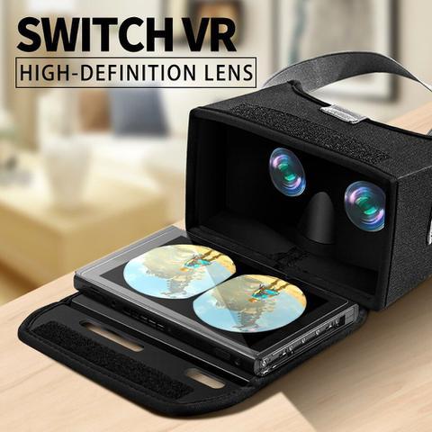 Imagem de Óculos Vr 3d Realidade Virtual Para Nintendo Switch Oivo iv-sw1865