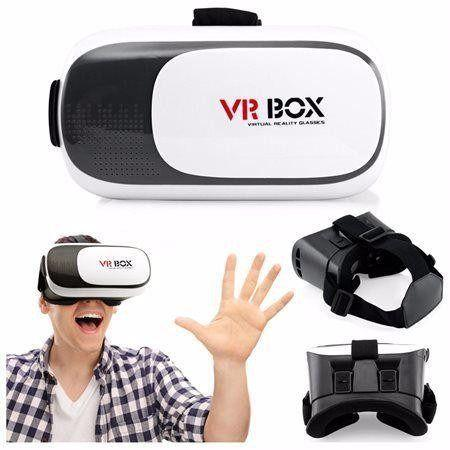 Óculos Vr Box 2.0 Realidade Virtual 3d Com Controle - Importado - VR ... 4551fee811