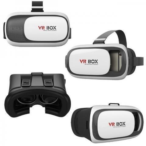 Imagem de Óculos Vr Box Realidade Virtual 3d Android + Controle Remoto