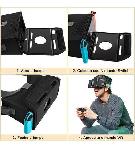 Imagem de Óculos VR Nintendo Switch Realidade Virtual - Oivo