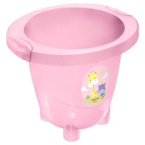 Imagem de Ofurô Infantil Plástico -18 Litros-Cor Rosa-SANREMO