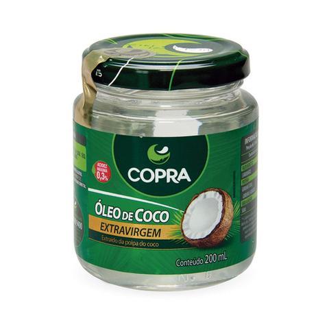 Imagem de Óleo de Coco Extra Virgem 200ml - Copra