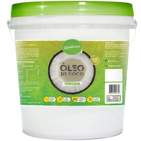 Imagem de Óleo de coco Virgem Qualicoco 1 litro - Qualicôco
