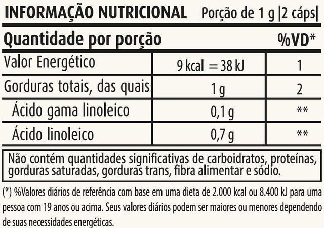 Imagem de ÓLEO DE PRIMULA 500mg - 60 - CÁPSULAS