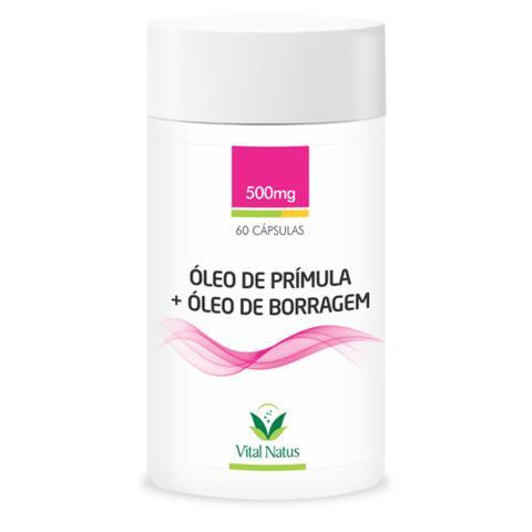 Imagem de Óleo de Prímula + Óleo de Borragem (500mg) 60 cápsulas - Vital Natus
