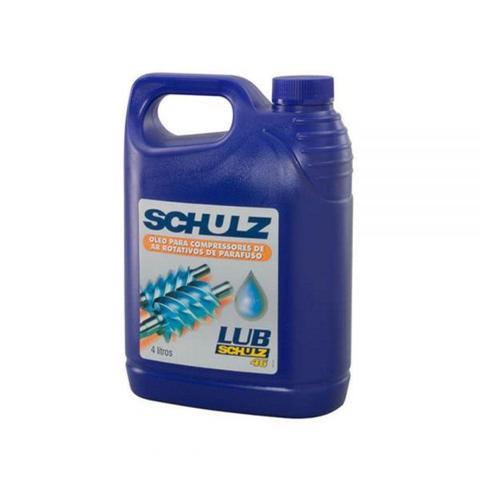 Imagem de Óleo Para Compressor Parafuso  LUB46  4L   Schulz