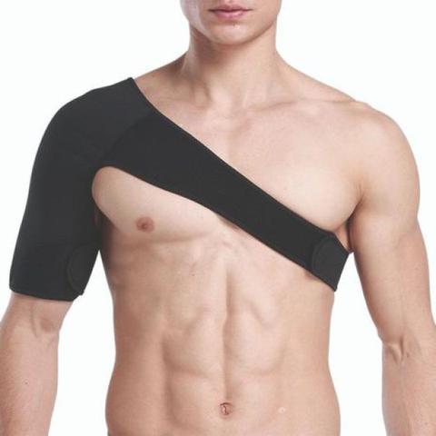 Imagem de Ombreira Protetor de Ombro Clavícula Suporte Bilateral