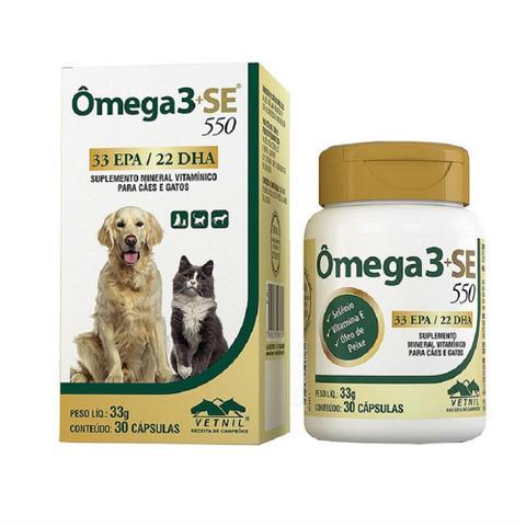 Imagem de Ômega 3 + SE 550 30 cápsulas - Vetnil