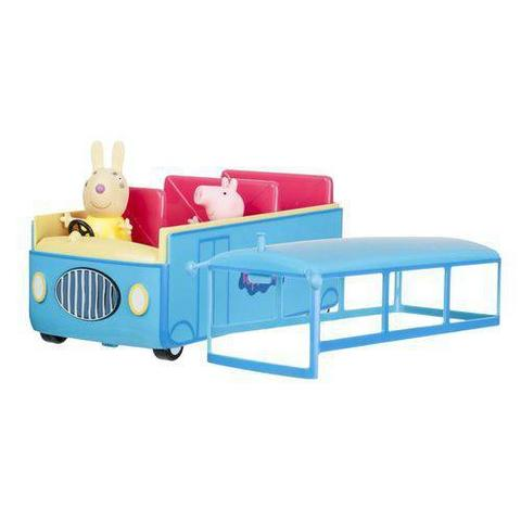 Imagem de Ônibus Escolar Peppa Pig com Som - DTC 4606