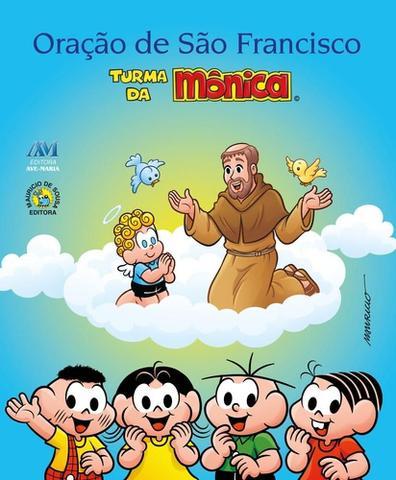 Imagem de Oraçao de sao francisco - turma da monica