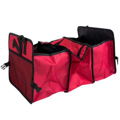 Imagem de Organizador Carro com Área Térmica banco traseiro porta mala Vermelho GT461-R - Lorben