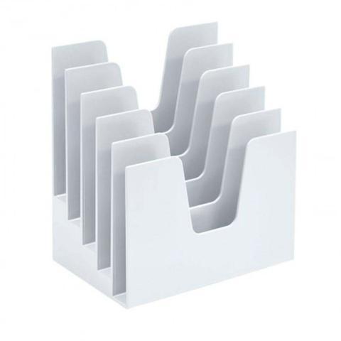 Imagem de Organizador de Documentos 5 Divisões Branco Acrimet