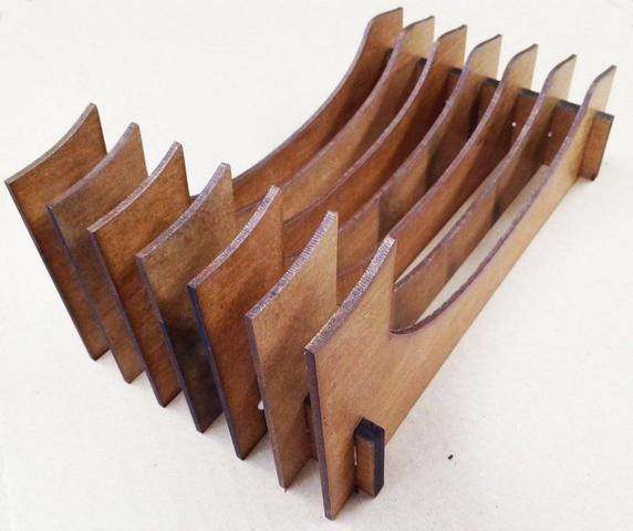 Imagem de Organizador de Pratos Vertical (06 pratos)