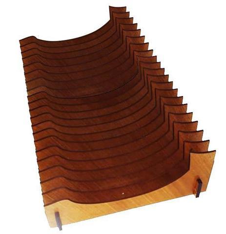 Imagem de Organizador de Pratos Vertical (20 pratos)