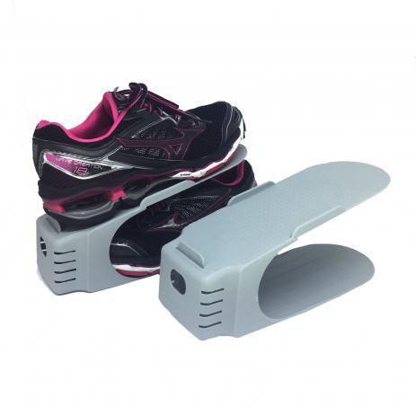 Imagem de Organizador de Sapato Rack com 20 unidades marrom