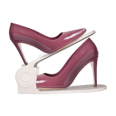 Imagem de Organizador de Sapatos Closet - Branco - 40 Pecas - Loladecor