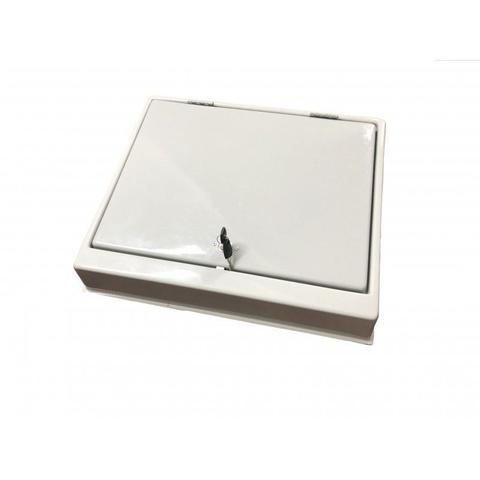 Imagem de Organizador Divisor Porta Notas Moedas Dinheiro Cédulas com Chave 49x41,8cm Magnum Industrial