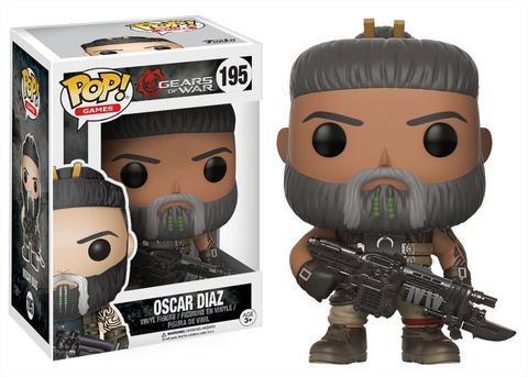 Imagem de Oscar Diaz 195 - Gears Of War - Funko Pop