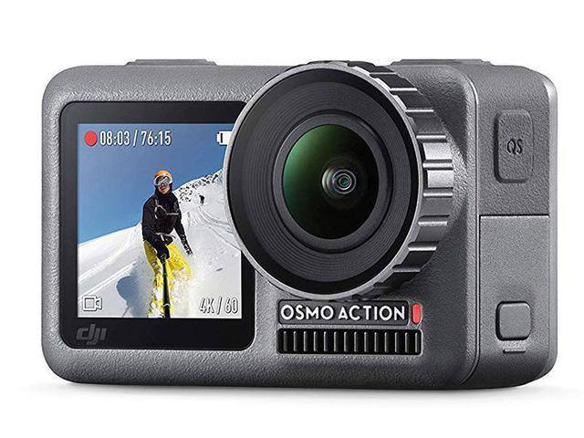 Imagem de Osmo Action Dji Camera 4K 12MP a Prova D'Agua Original