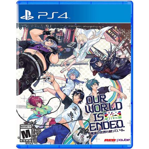 Jogo Our World Is Ended - Playstation 4 - Pqube