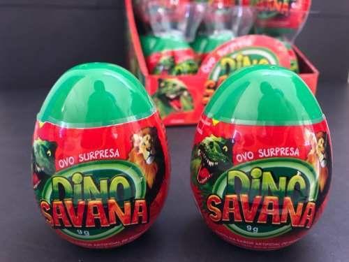 Imagem de Ovo Surpresa Dino Savana Dtc C/24 Ref. 4459