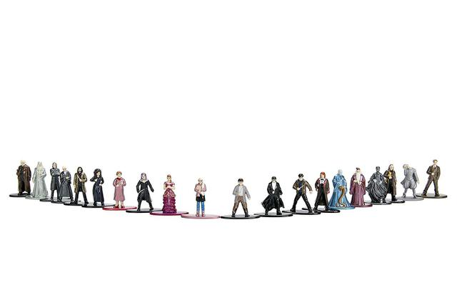 Imagem de Pack 20 Personagens Harry Potter Nano Metal Figs Jada 30010 DTC 4290