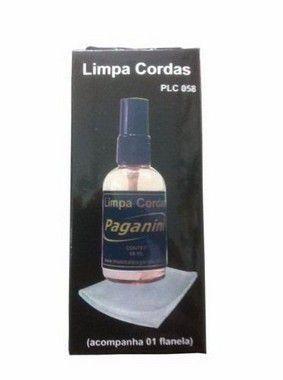Imagem de Paganini Limpa Corda PLC058 + Flanela Violão Guitarra Etc