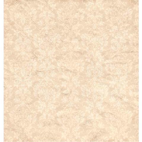 Imagem de Página para Scrapbook Dupla Face Litoarte 30,5 x 30,5 cm - Modelo SD-599 Estampa Rosa em Ornamentos