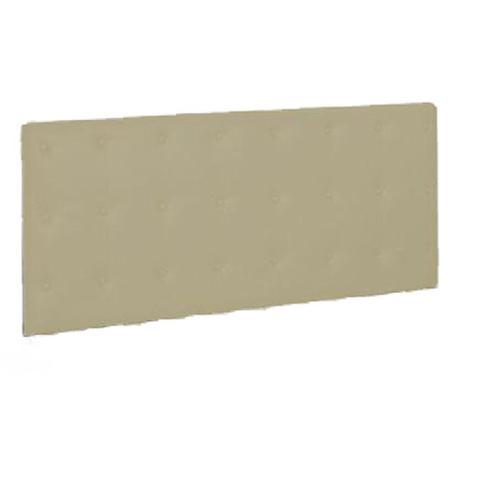 Imagem de Painel Cabeceira De Casal 140cm Para Cama Box Toskana Napa Bege - DS Estofados