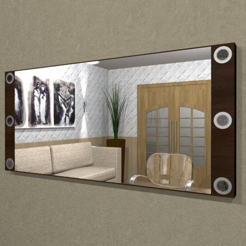 Imagem de Painel Camarim ( 1,50 x 0,70 ) com Espelho e Iluminação em LED para Penteadeiras - PC13