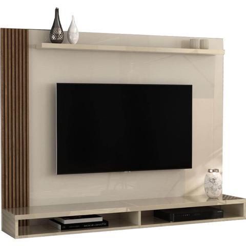 Imagem de Painel Dijon para TV até 50 Polegadas EDN Móveis Cor Off Naturale