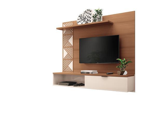 Imagem de Painel Home Suspenso Grid Para Tv até 50 Polegadas - HB Móveis