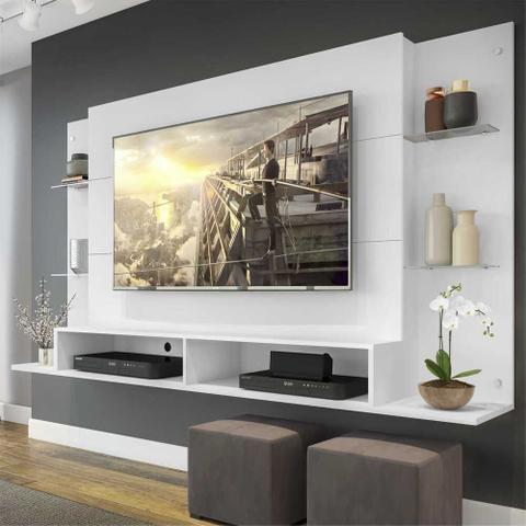 Imagem de Painel Nairóbi Multimóveis para TV de até 60 Polegadas com Nicho p/ Sala de estar