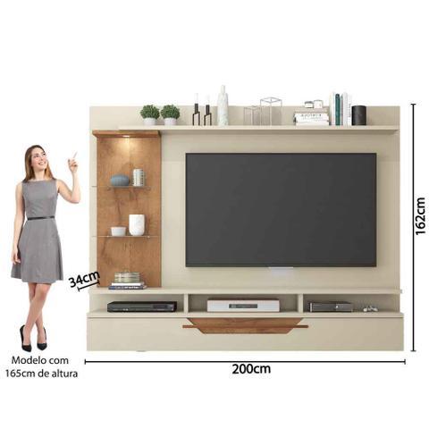 Imagem de Painel para Tv 50 polegadas Londres Permobili Off White/Savana