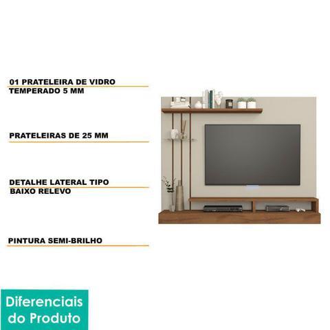 Imagem de Painel para TV 50 Polegadas Valencia Permobili Off White/Savana