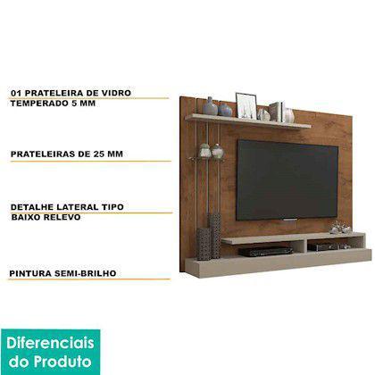 Imagem de Painel para Tv 50 Polegadas Valencia Permobili Savana/Off White