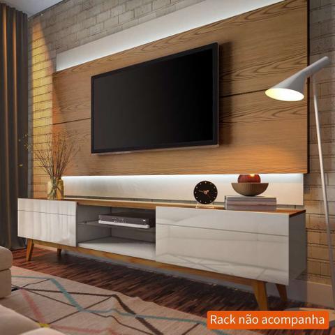 Imagem de Painel Para TV 60 Polegadas Classic I Freijó com Off White