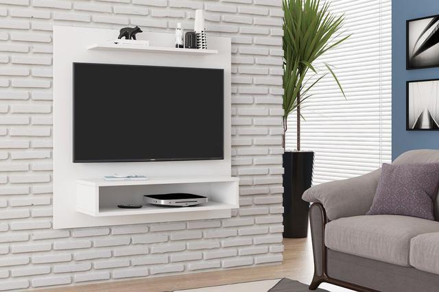 Imagem de Painel Para TV até 32 Fit Branco - beemóveis