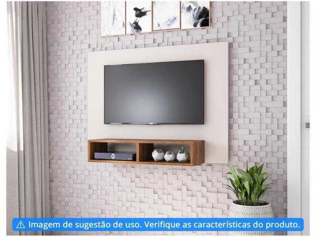 """Imagem de Painel para TV até 42"""" 1 Prateleira Viero Móveis"""