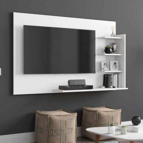 Imagem de Painel para TV até 42 Polegadas Life EJ Móveis Branco