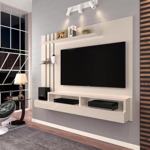 Imagem de Painel para TV até 47 Polegadas Classic - Off White - Móveis Jaci