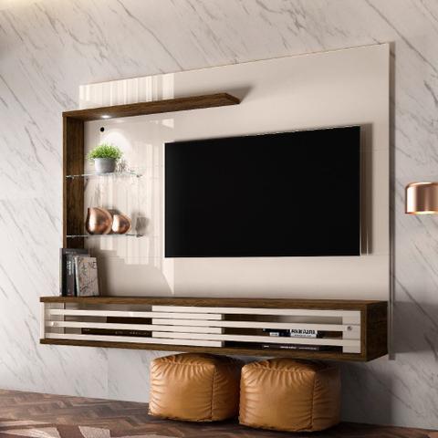 Imagem de Painel para TV até 50 Polegadas 2 Portas Frizz Select Madetec