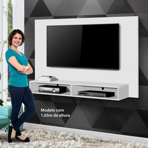 Imagem de Painel para TV até 50 Polegadas com Nicho Luna Yescasa Branco