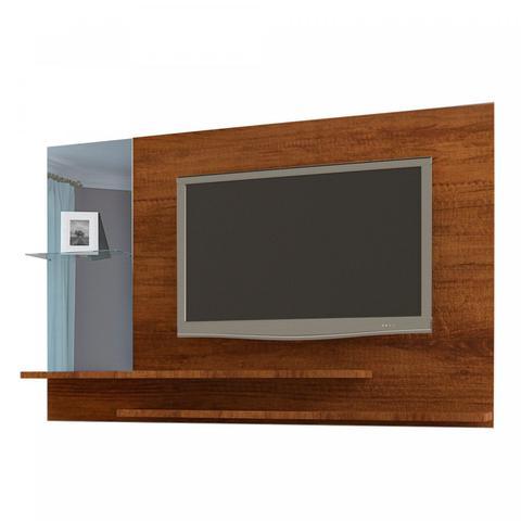 Imagem de Painel para TV de 42 Polegadas com Espelho JB Bechara Caramelo