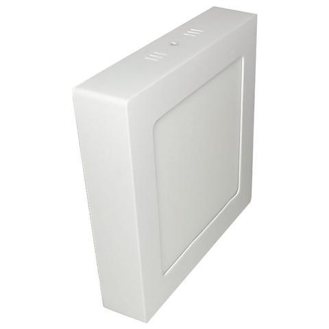 Imagem de Painel Plafon Led 12W Sobrepor Quadrado Branco Frio 11cm